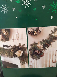 9ft Decorated Christmas Garland