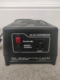 Tacima 2P300UK AC-AC Convertor US to UK