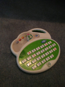 Leap frog toy with batteries
