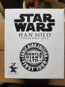 Gentle Giant Star Wars Han Solo Mini Bust (Early Bird Exclusive)