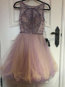 Terani Couture Lavender prom dress