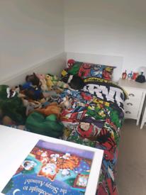 kids childs ikea single flaxa bed