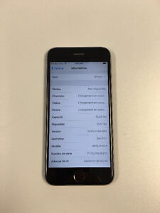 iphone 6s 16 gig bell 400$