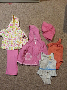 Lot of Girl's 24 month/2T clothes perfect for Spring!