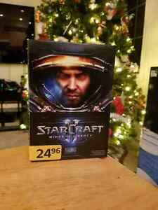 Star Craft Wings of Liberty windows or Mac BNIB
