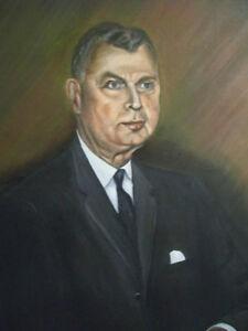 Portrait of Diefenbaker