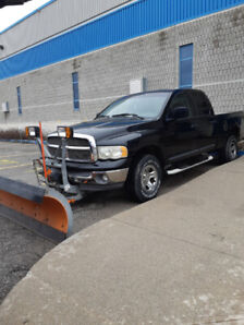 2002 dodge ram 1500 with plow