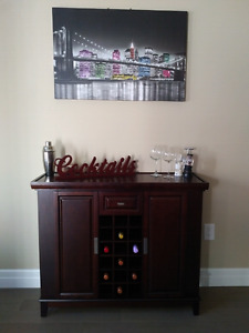 Moving! Selling Wine Cabinet