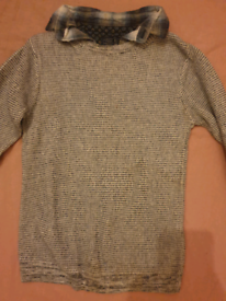 Next jumper with attached shirt
