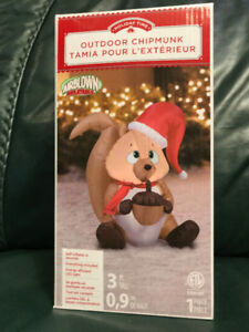 NEW CHRISTMAS Inflatables ~ OWL, MOUSE, TEDDY BEAR etc. $15 each