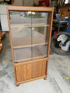 Stereo Cabinet with pull out for phonograph
