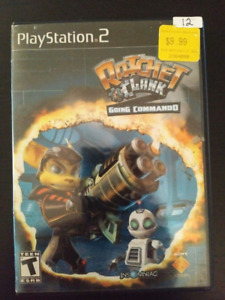 Ratchet and Clank Going Commando for PS2