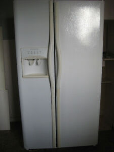 Frigidaire Gallery 25.9 cu.ft. White Side-by-Side Refrigerator