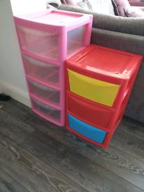 Children's storage draws