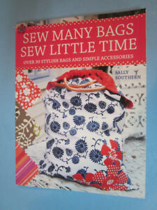 "Pattern book entitled ""Sew Many Bags; Sew Little Time"""