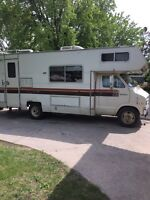 New safety 1977 21 foot motorhome.