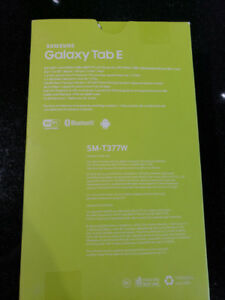 "Samsung Galaxy Tab E 8"" 16GB Android 6.0 LTE Tablet"