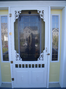 OLD FASHIONED SCREEN DOOR - HANDCRAFTED