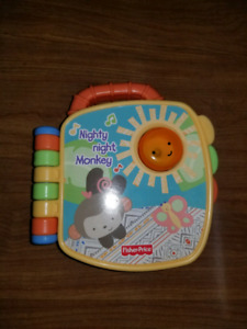 Fisher Price Nighty Night Monkey