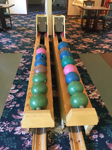 Two-lane German Bowling Alley for sale