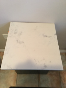 12 Marble Stone Slabs - approx 1.5 x 1.5 ft