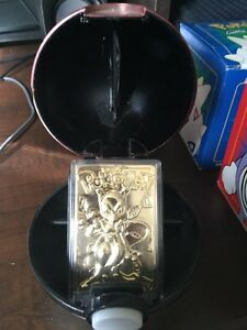 23K gold plated Pokemon cards