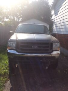 2004 Ford F250 with PLOW London Ontario image 2