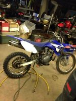 2007 yamaha ttr125 lots of new parts &papers $1500 firm!