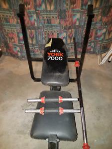 Bench press York 7000