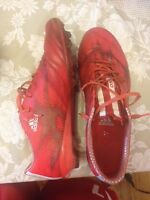 Adidas F50 red size 10 (champions league leather model)