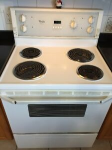 Stove, Dishwasher and Microwave