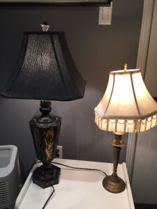 2 Vintage Table Lamps in Great Condition  ($20 ea) $Reduced