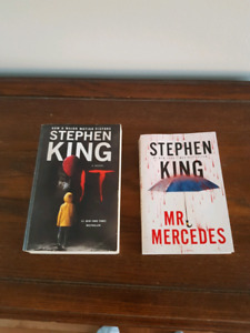 Stephen King books - it and mr. Mercedes