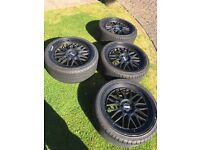 BBS LM's 19 (235-35-19) 5x100 VW Golf