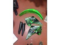Kx 125 plastics