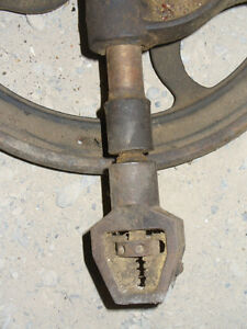 Vintage or antique post drill Kitchener / Waterloo Kitchener Area image 2