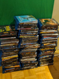 Used Blu-Ray Movies for sale / 3.50$ per Movie
