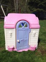 Large girly outdoor play house