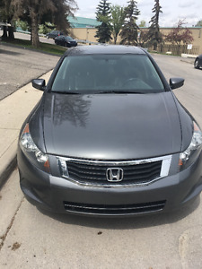2008 Honda Accord EX-L Sedan Fully Loaded, Clean.