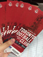 TFC SOCCER GAMES TICKETS. FOR ONLY $25!!