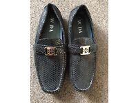 Mens designer inspired shoes size 44 9.5UK