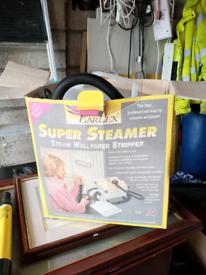 Wall paper steamer.