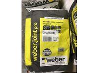 Weber flexible waterproof grout