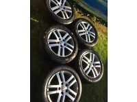 "5 x 16"" VW Atlanta Alloys Golf MK5 MK6 Jetta Touran Tiguan"