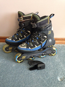 K2 Ladies size 8.5 Roller Blades - Super Fast