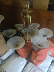 Brass Light fixtures & Flush mounts