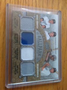 2009 UPPER DECK BALLPARK COLLECTION BLUE JAYS MEMORABILIA