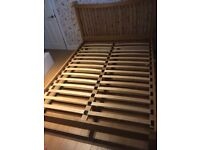 Next wooden king size bed