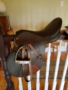Children's english saddle