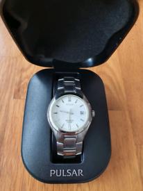 Pulsar kinetic watch.